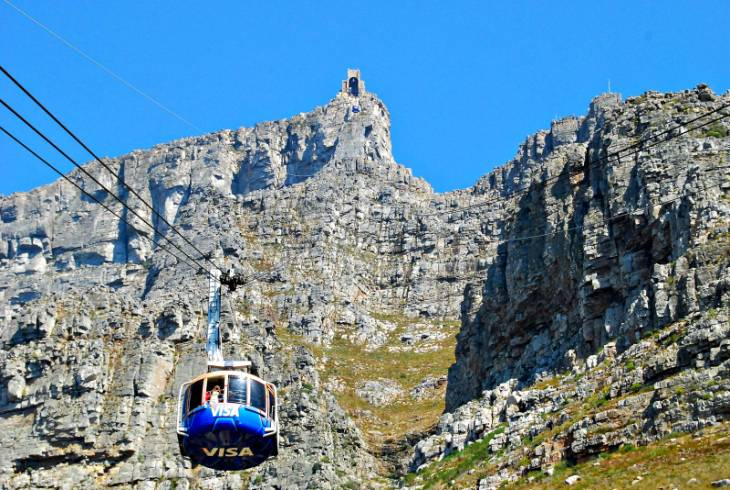 Aerial Cableway at Table Mountain