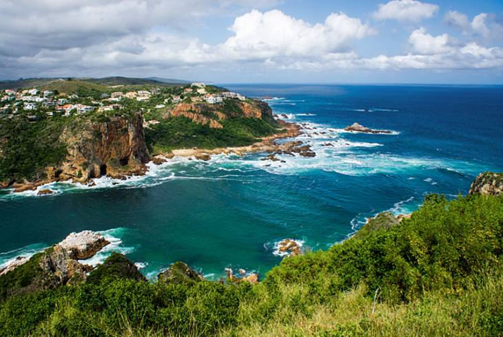East Head, Knysna Heads from Featherbed Nature Reserve Knysna