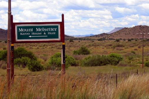 Mount Melsetter, Karoo House and Hunt