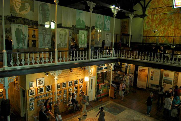 Inside the District Six Museum, Cape Town