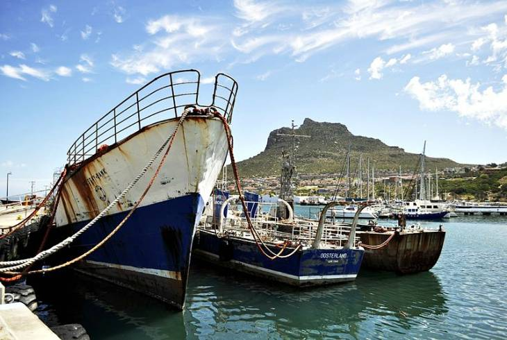 Make the trip out to the wharf and enjoy the authentic harbour setting