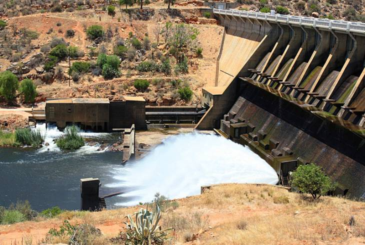 The Clanwilliam Dam dates back to 1935