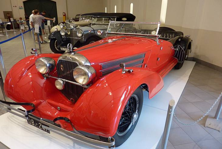 A visit to the Franschhoek Motor Museum is a must for all petrol-heads
