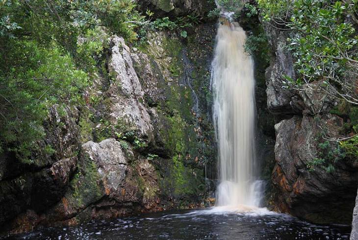 Disa River Waterfall, Harold Porter National Botanical Garden, Bettys Bay