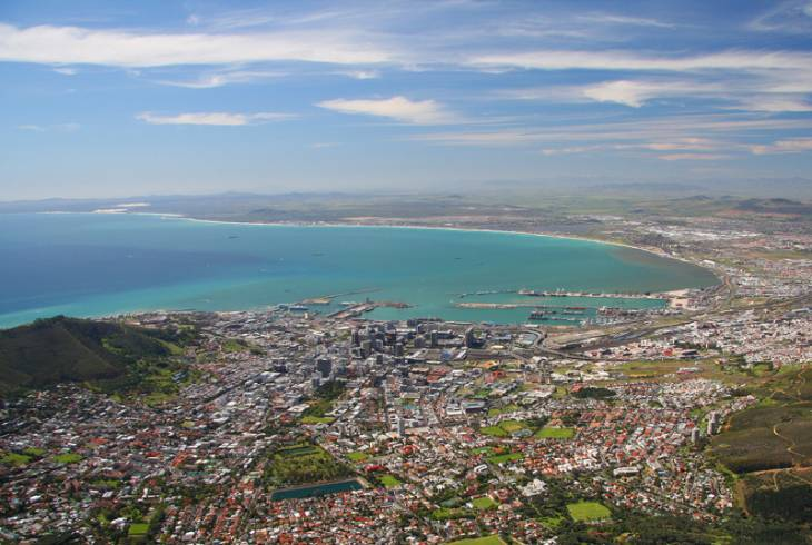 Cape Town and Table Bay