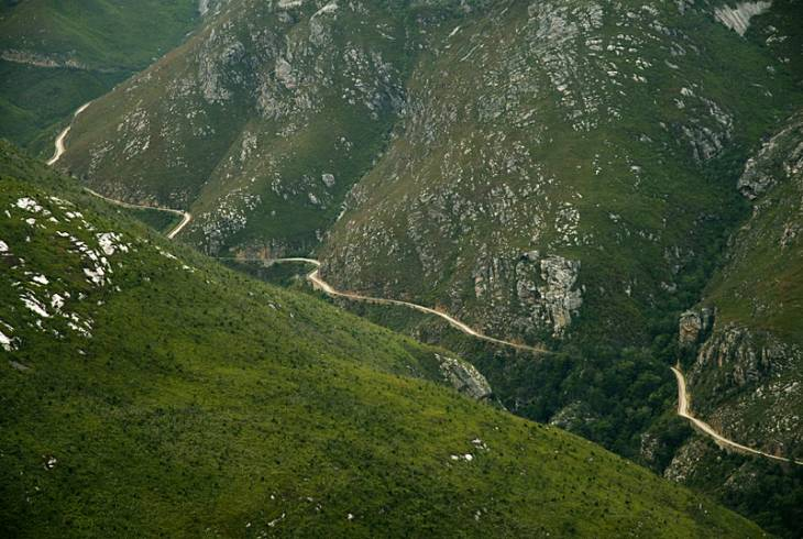 The Swartberg Pass was built using convict labour and opened on 10 January 1888