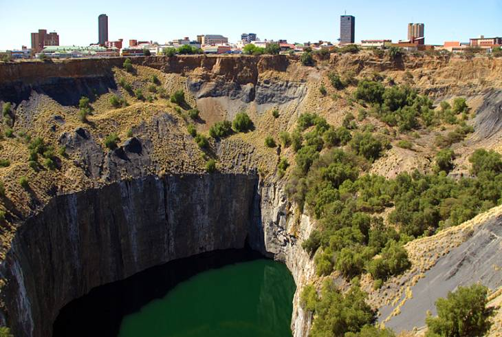 The Big Hole in Kimberley, Northern Cape