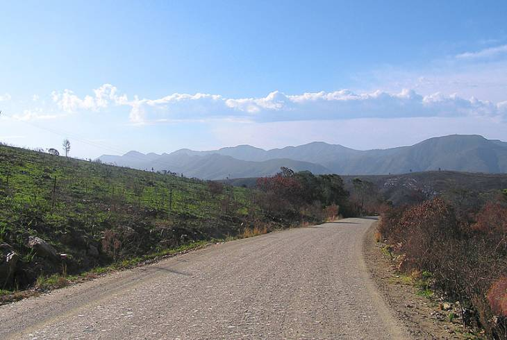The Prince Alfred Pass at 88 kms long is the longest mountain pass in South Africa by a considerable margin
