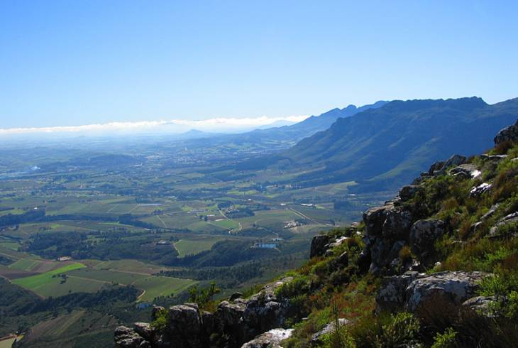 View from the Helderberg Nature Reserve