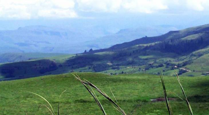 Storm clouds gathering - Himeville, Drakensberg & Surroundings