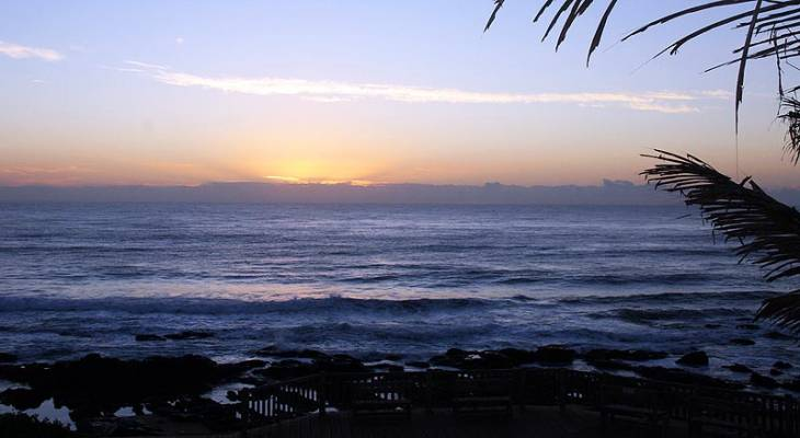 Sunrise in Ballito - North Coast, KwaZulu Natal