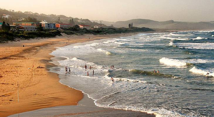 Scottburgh (pronounced scott-burra) is a resort town situated on the mouth of the Mpambanyoni River (confuser of birds), 58 km south of Durban on KwaZulu-Natal South Coast in South Africa