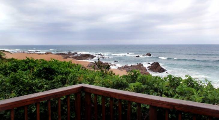Southport, South Coast, KwaZulu Natal - View From Shifting Sands Beach Cottage