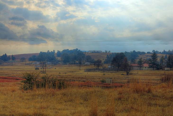 Swinburne, a stones throw from the Free State / KwaZulu-Natal border