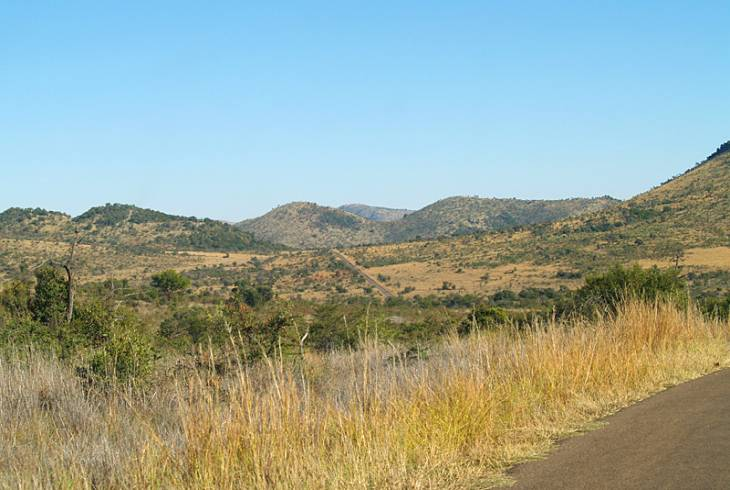 Pilansberg National Park in the North West, South Africa