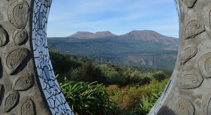 Eco Shrine in the Hogsback, Eastern Cape