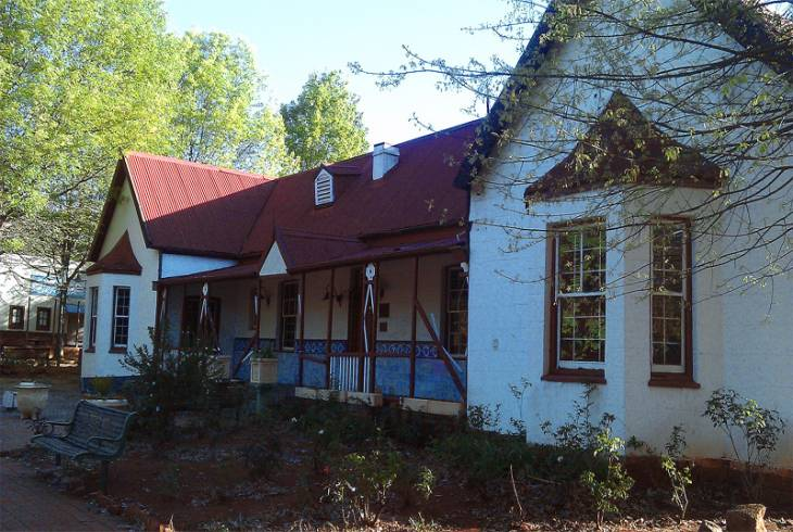 The historic old Horwood farmhouse in Homestead Road, Edenvale, District of Germiston