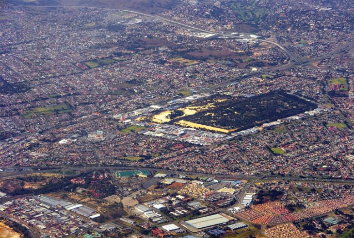 Randburg from the air