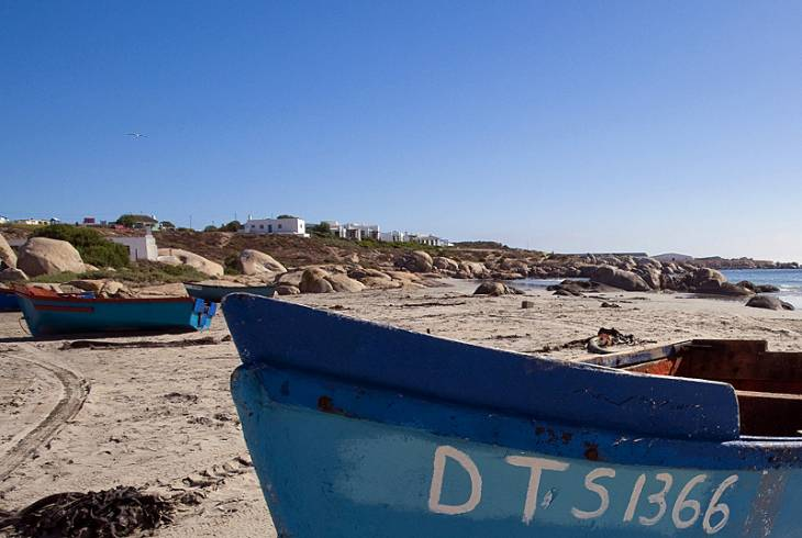 The traditional fishing town of Paternoster