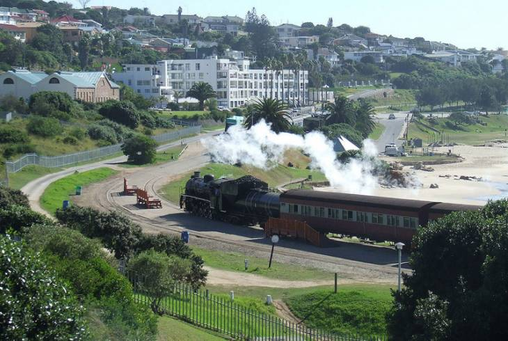 The Outeniqua Choo-tjoe at Mossel Bay