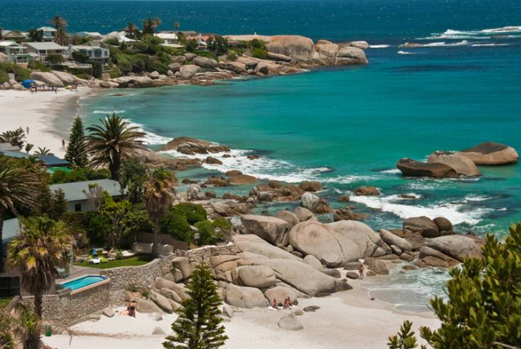 Beautiful beaches from Camps Bay to Clifton