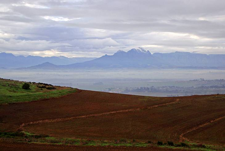A view from Meerendal Wine Estate in Durbanville