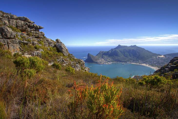 Hout Bay from Noordhoek Peak