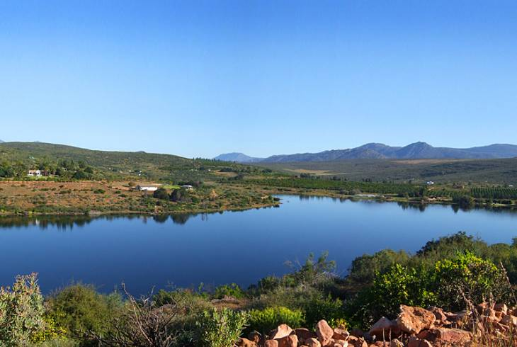 Tranquility at the Clanwilliam Dam