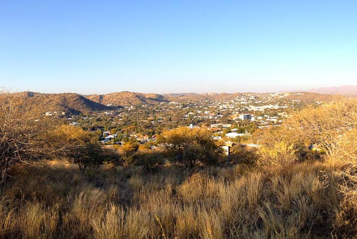Windhoek, the capital of Namibia