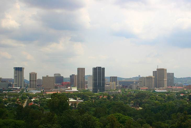 The heart of Pretoria