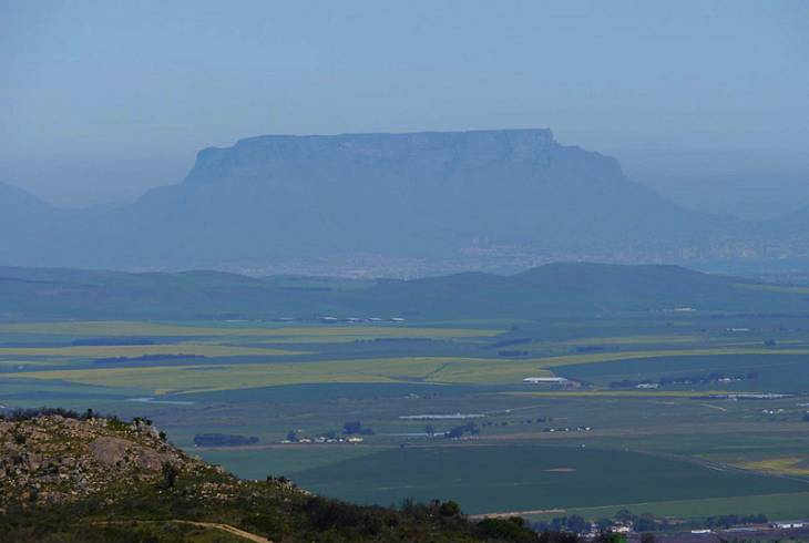 A view from the Paardeberg