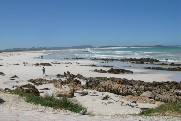 Franskraal by the sea