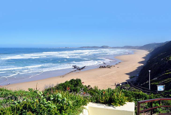Magnificent beach at Brenton-on-Sea