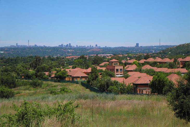 Beverley Gardens on the outskirts of Randburg