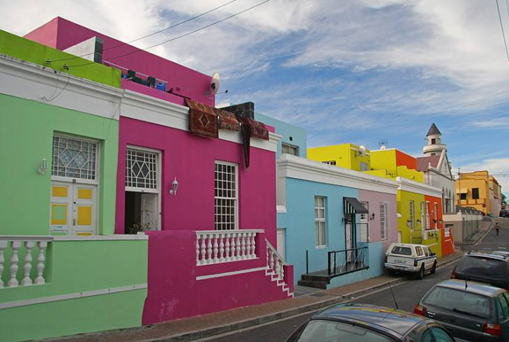 Bo-Kaap District (Malay Quarter) in Cape Town