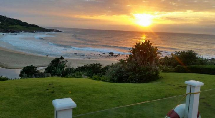 View from Dolphin Bay Beach House - Munster, South Coast, KwaZulu Natal