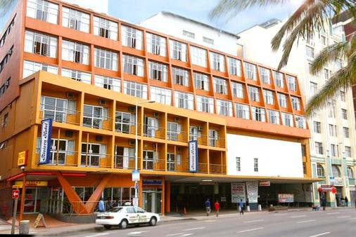 Modern Front Elevation Images : Riviera hotel durban beachfront accommodation